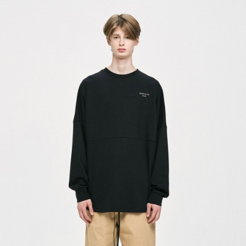 CREWNECK T-SHIRT - BLACK