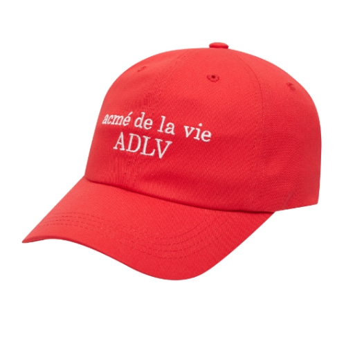 ADLV BASIC BALL CAP RED