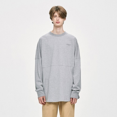 CREWNECK T-SHIRT GREY
