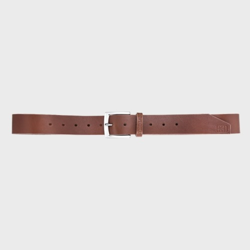 IC CHIP HAND CRAFT BELT BROWN