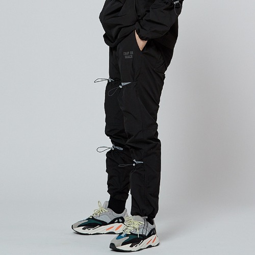 REFLECT POCKET PANTS BLACK
