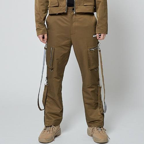 REFLECT BONDAGE PANTS KHAKI