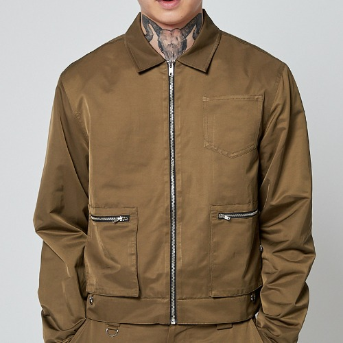 REFLECT BONDAGE JACKET KHAKI