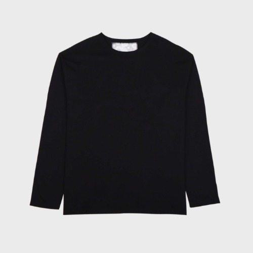 CUTTING LONG SLEEVE BLACK
