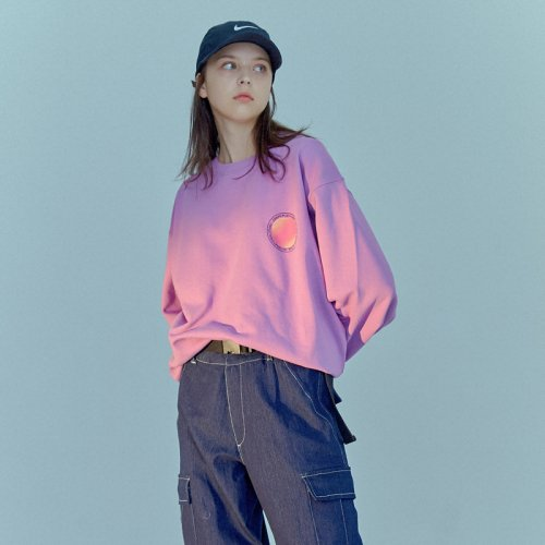 GRADATION SWEATSHIRT PURPLE