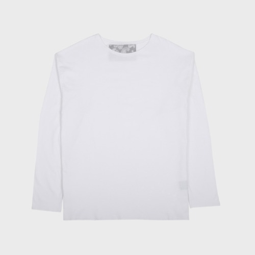 CUTTING LONG SLEEVE WHITE