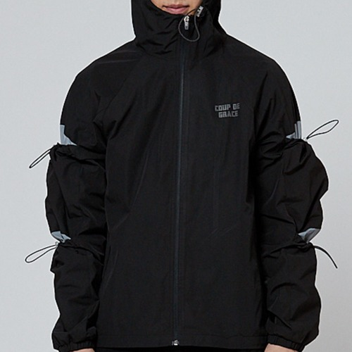 REFLECT STRING JACKET BLACK