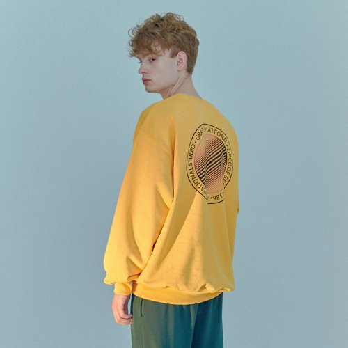 GRADATION SWEATSHIRT YELLOW