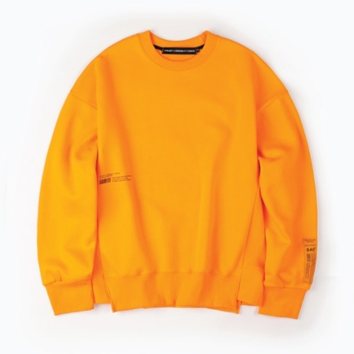 PLEASURE CREWNECK ORANGE