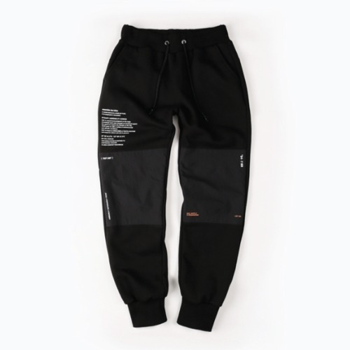 DIVISION SWEAT PANTS BLACK