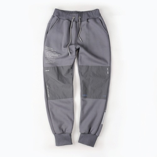 DIVISION SWEAT PANTS GRAY