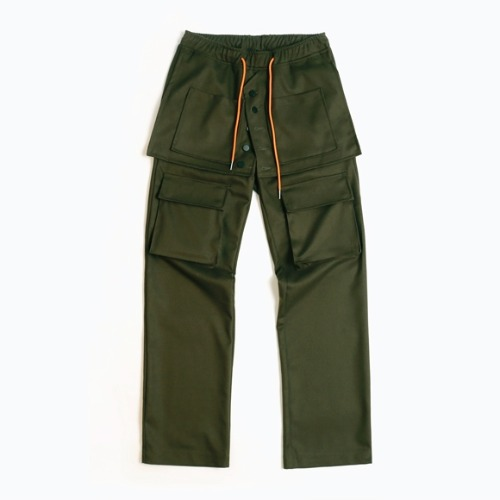 APRON ENGINEERED SLACKS KHAKI