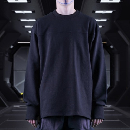 GALAXY HIT MAN CREWNECK BLACK