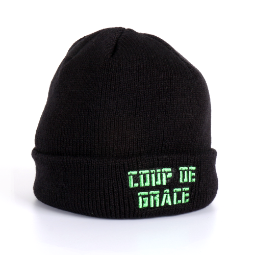 BROKEN HEART BEANIE BLACK