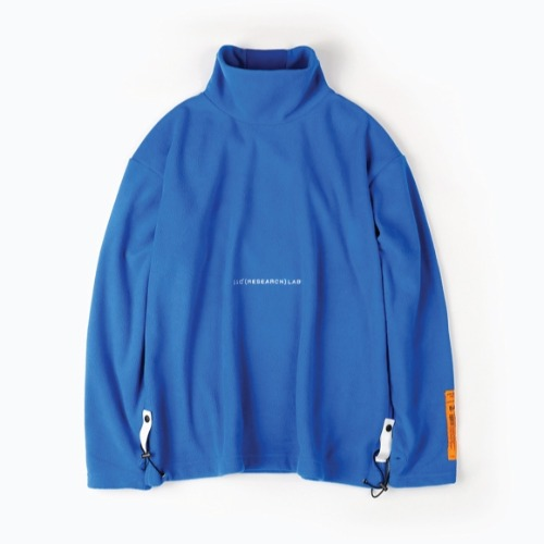 FLEECE TURTLE NECK WARMER LS BLUE