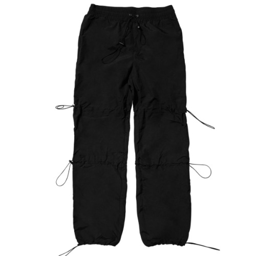 GPD 0010A STRING PANT BLACK (WATER REPELLENT)