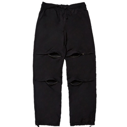 GPD 0010A ZIPPER PANT BLACK (WATER REPELLENT)