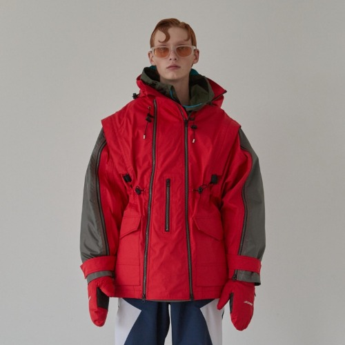B.A.S.E. JUMPING CLUB RED WING JACKET