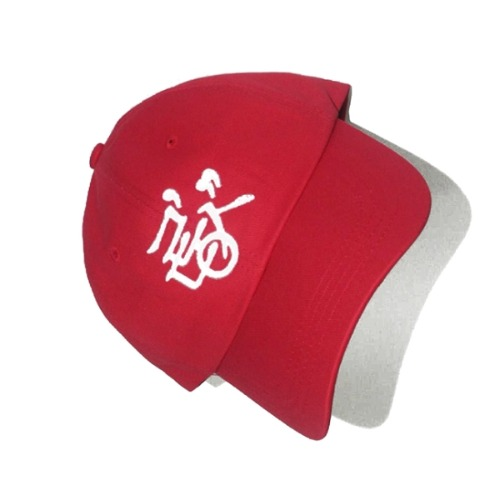 RDS LOGO CAP TRACK.1-RED