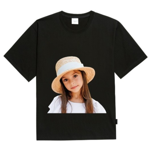 ADLV BABY FACE SHORT SLEEVE BLACK FEDORA