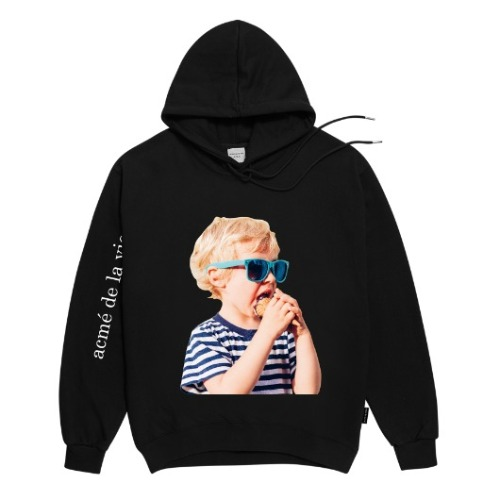 ADLV BABY FACE HOODIE BLACK SUNGLASSES
