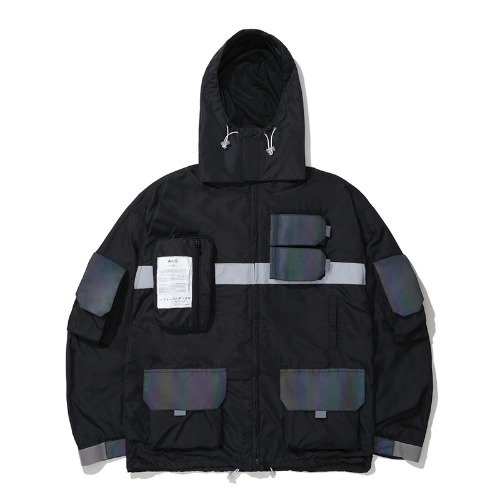 0.20 HOLOGRAM SMOCK JACKET