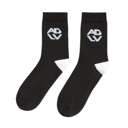 ADLV HEXAGON SIGNATURE SOCKS BLACK