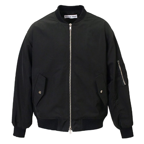 BACK POCKET MA-1 JACKET BLACK