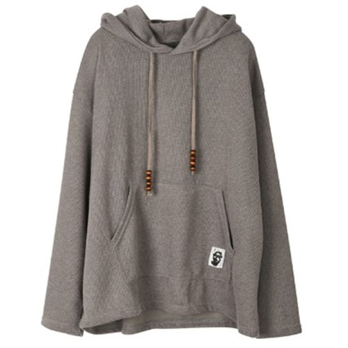 PATCH HOOD GRAY