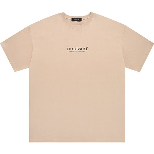 Counter culture short sleeved T-shirt - Beige