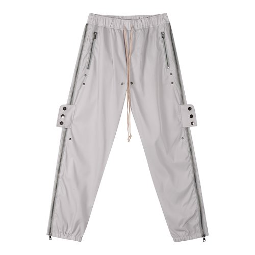 Snap slide training pants - Gray