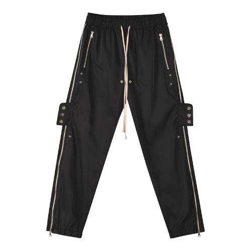 Snap slide training pants - Black