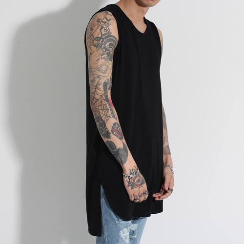 [FADE6 x BURJ SURTR] RAYON SLEEVELESS (4COLORS)
