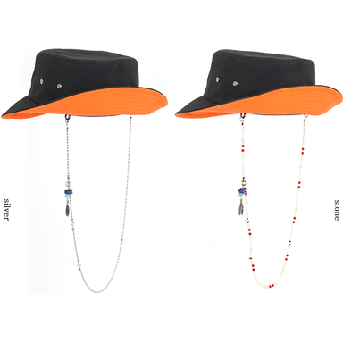 [WHATEVER] BUCKET HAT x EYEWEAR HOLDER (BLACK)