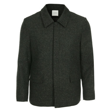 [CLEMMRM] DONA WOOL JACKET (OLIVE GREEN)