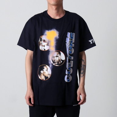[쿠드그라스 연말 FINAL SALE] [YRN] CULTURE CARTEL TEE (BLACK)