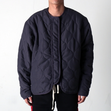 [쿠드그라스 연말 FINAL SALE] [EPTM] VINTAGE MILITARY PADDING JACKET (VINTAGE CHARCOAL)