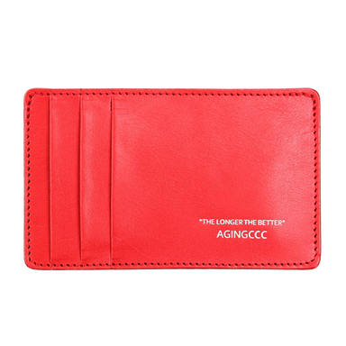 [AGINGCCC] 236#Y CARD WALLET- RED