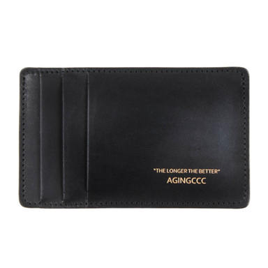 [AGINGCCC] 243# Y CARD WALLET-COW HIDE