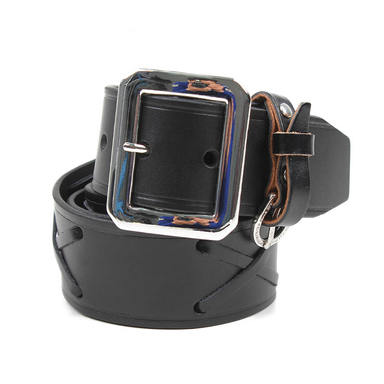 [AGINGCCC] 263# JOHHNY BELT-BLACK