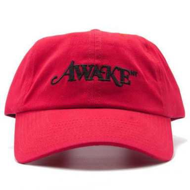 [AWAKE] AWAKE NEW YORK LOGO BALL CAP (RED)
