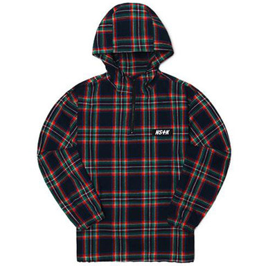 [2018 SPRING SEASON OFF] [NSTK] MAZE SHIRT ANORAK JACKET (NAVY)