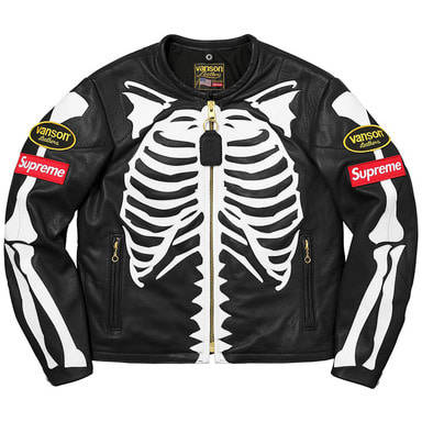 [SUPREME] SUPREME x VANSON LEATHERS FULL COLLECTION (BLACK)