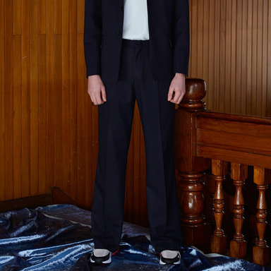 [NOVELLA] 18SS ONE-TUCK LONG TROUSER
