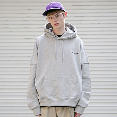 [MASSNOUN] DISCRIMINATION OVERSIZED HOODIE MSEHD002-GR