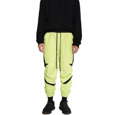 [60% OFF FINAL SALE] [FADE6] NEON PANTS GREEN