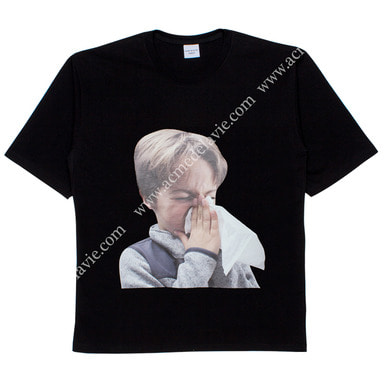 [ACME DE LA VIE] ADLV BABY FACE SHORT SLEEVE T-SHIRT (BLACK) 베이비 페이스 반팔 블랙 감기