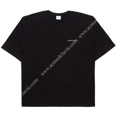 [ACME DE LA VIE] ADLV BASIC SHORT SLEEVE T-SHIRT (BLACK) 반팔 블랙