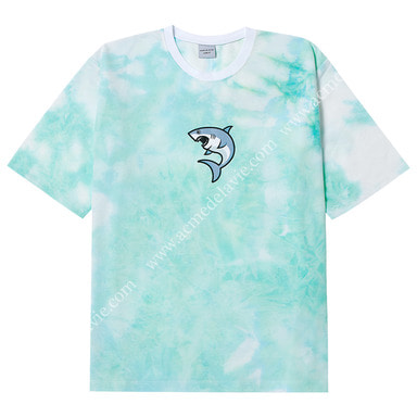 [ACME DE LA VIE] ADLV SHARK SHORT SLEEVE T-SHIRT (SKY MINT) 상어 반팔 타이다이 민트