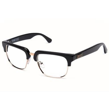 [30% PRE-ORDER SALE 5/11~6/11 예약판매] [9FIVE] BELMONT BLACK & GOLD CLEAR LENS